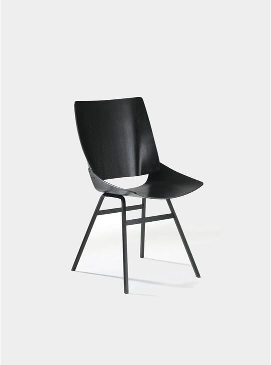 Black Shell Chair