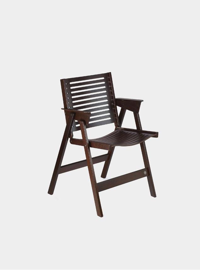 Dark Brown Rex Chair