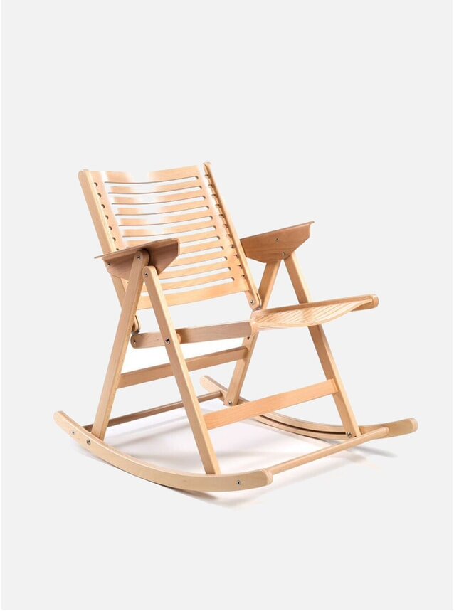 Natural Rex Rocking Chair