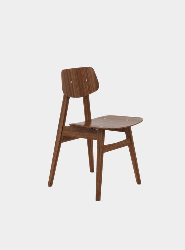 Walnut 1960 Dining Chair