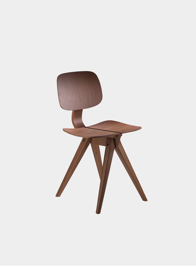 Walnut Mosquito Dining Chair