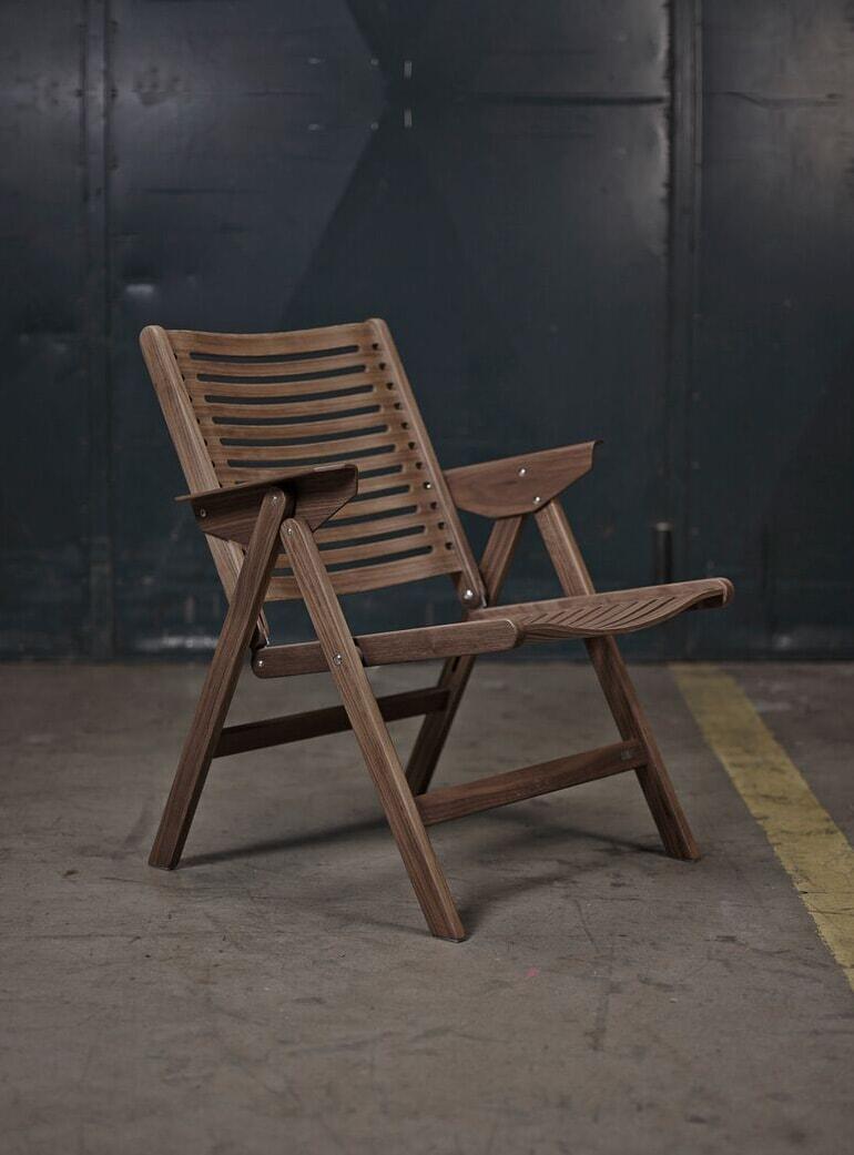 Magnificent Walnut Rex Lounge Chair Theyellowbook Wood Chair Design Ideas Theyellowbookinfo
