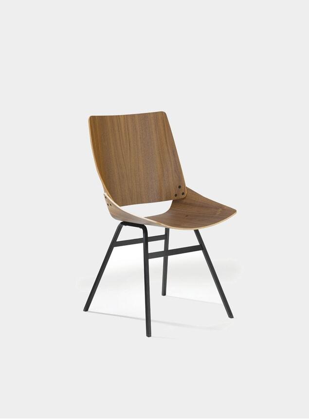 Walnut Shell Chair