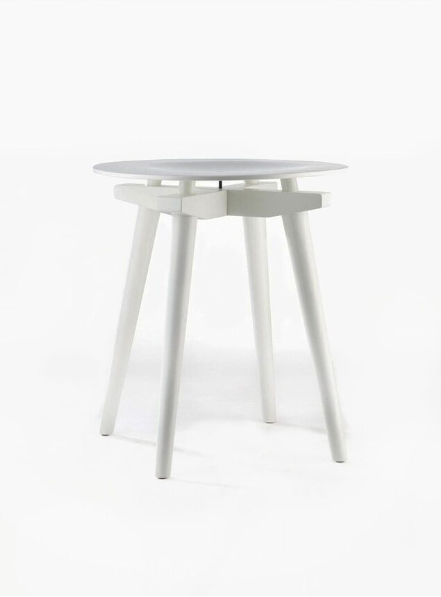 White CC Stool