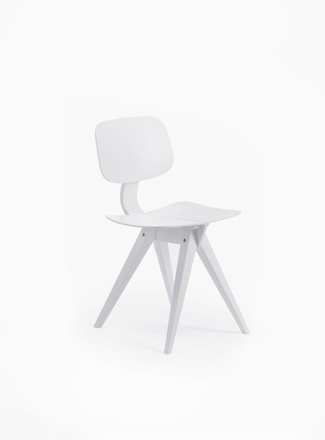 White Mosquito Dining Chair