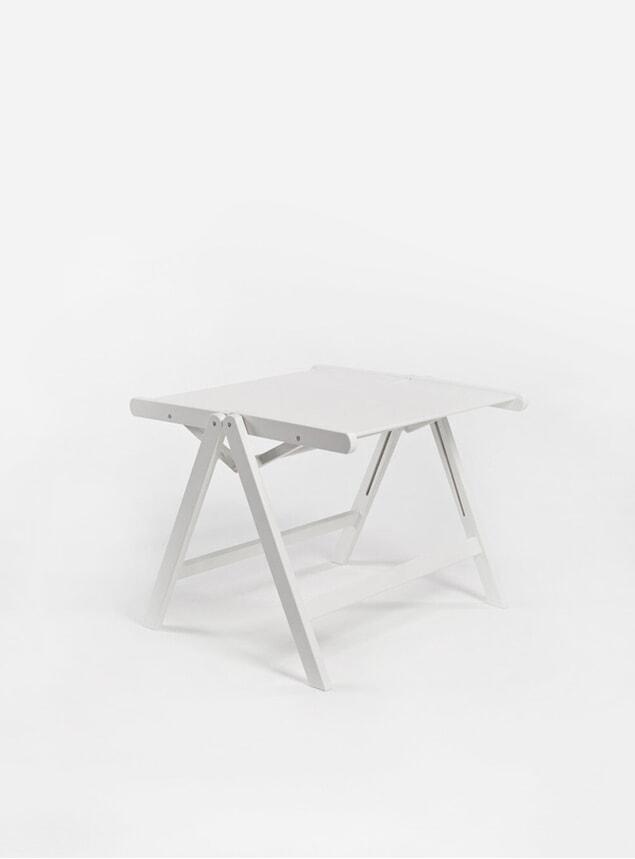 White Rex Coffee Table