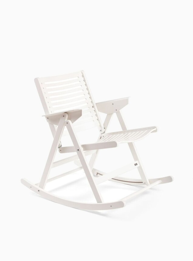 White Rex Rocking Chair