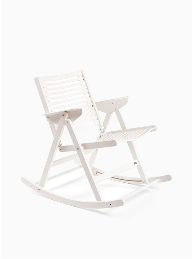 White Rex Rocking Chair