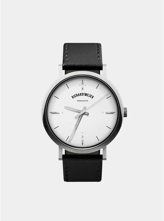 White Daily Watch