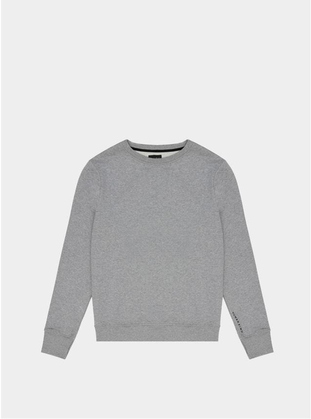 Marl Grey Human Kind Sweatshirt