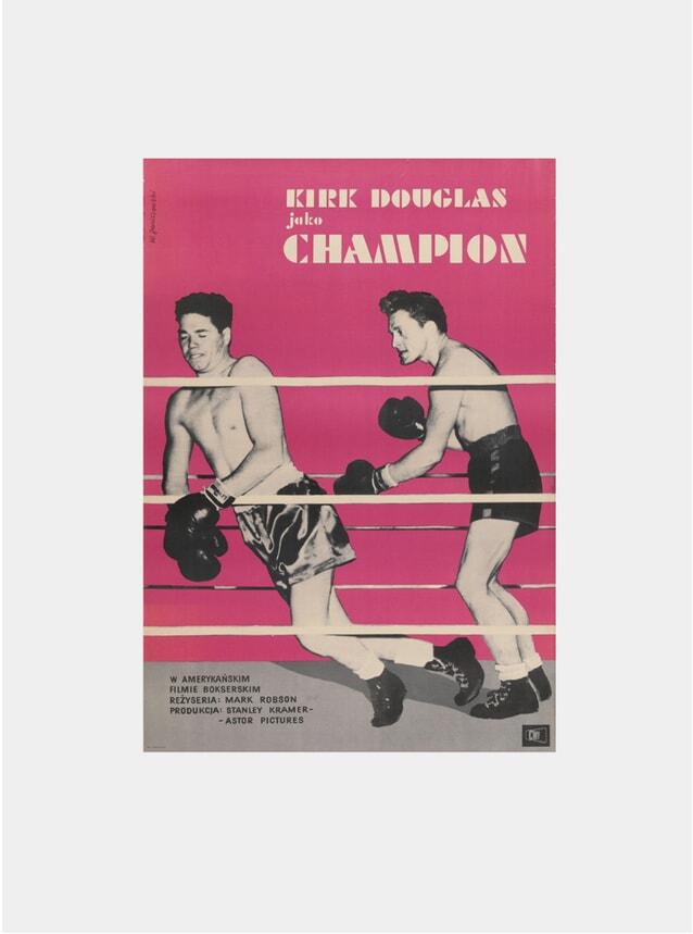 Champion, 1961 Original Poster