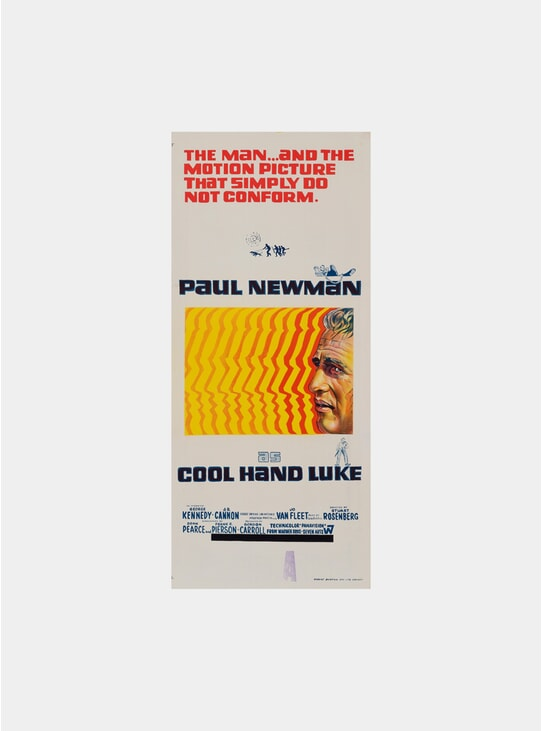 Cool Hand Luke, 1967 Original Poster