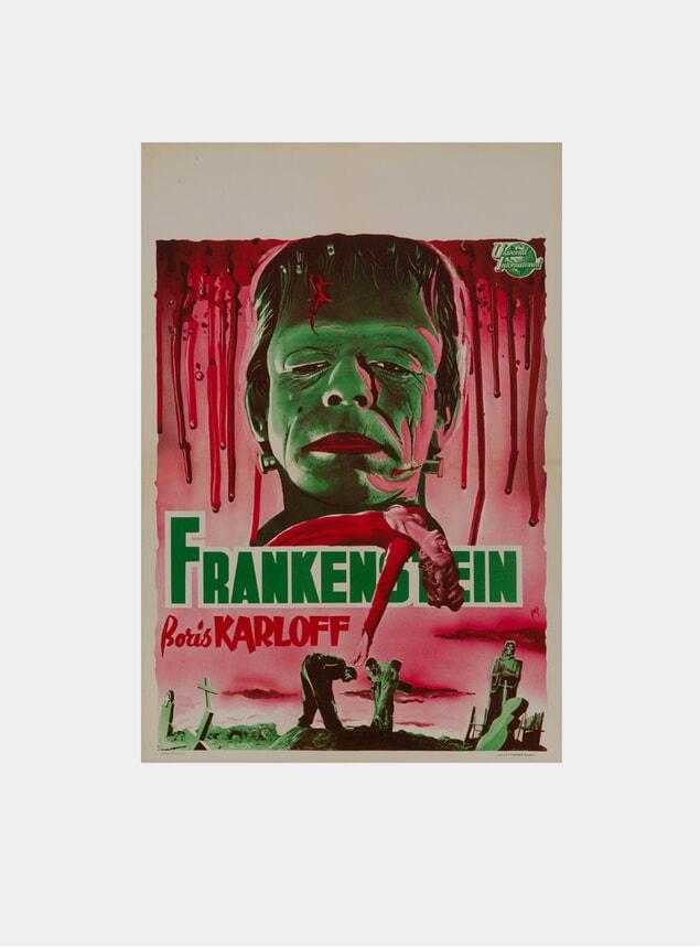 Frankenstein, 1950s Original Poster