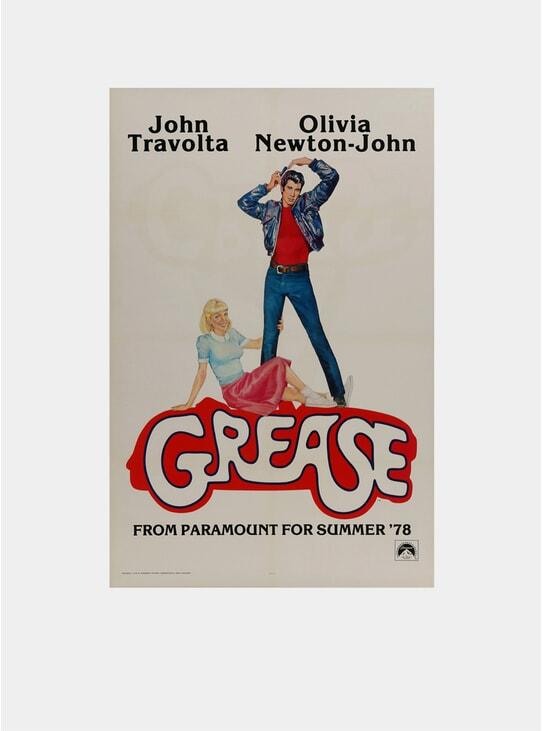 Grease, 1978 Original Poster