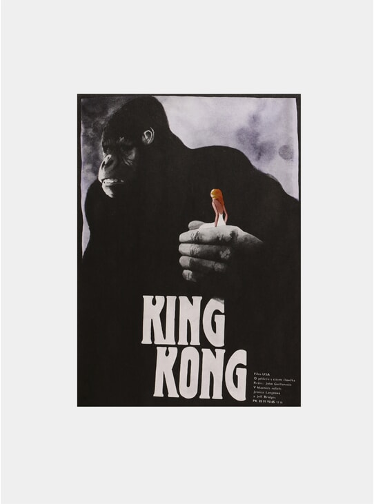 King Kong, 1989 Original Poster