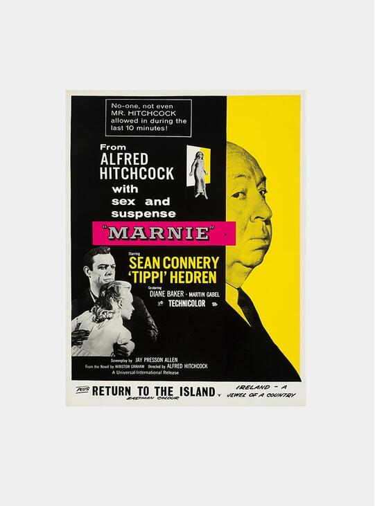 Marnie, 1964 Original Poster