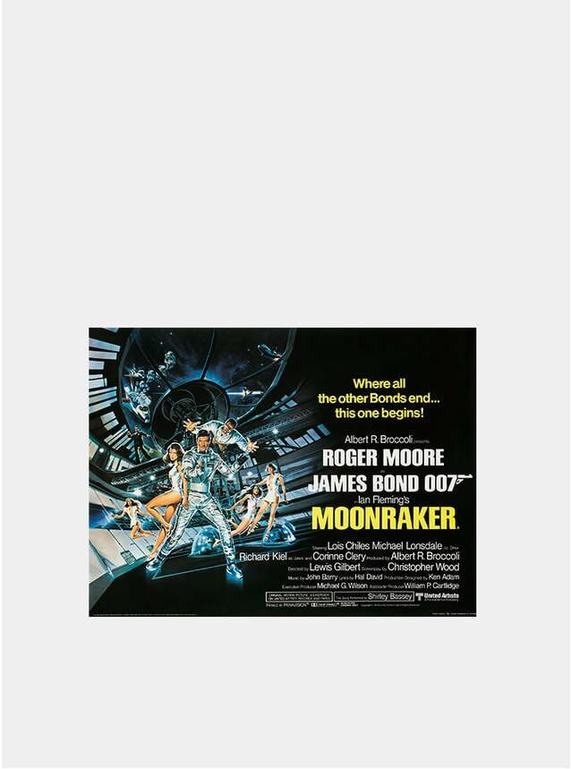 Moonraker, 1979 Original Poster