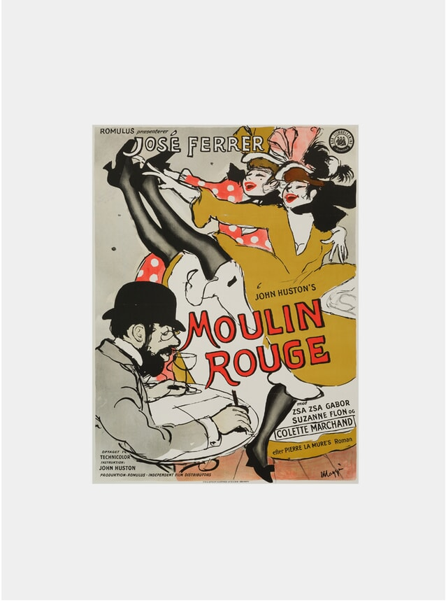 Moulin Rouge, 1955 Original Poster