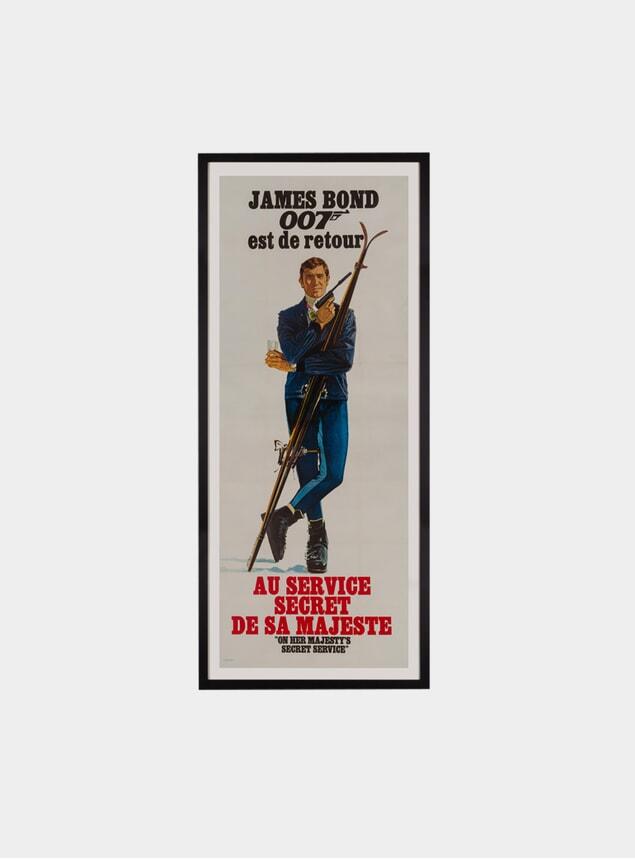 On Her Majesty's Secret Service, Original Poster