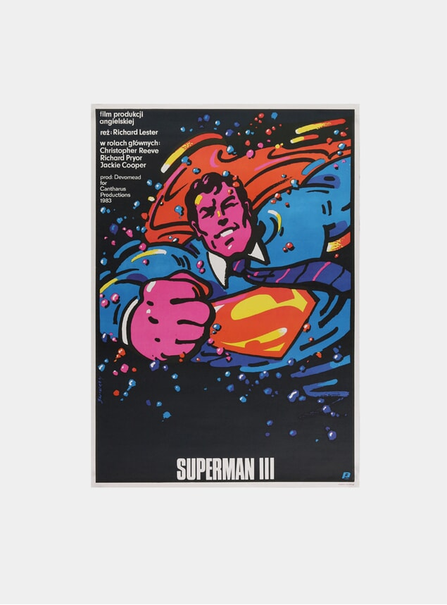 Superman III, 1983 Original Poster