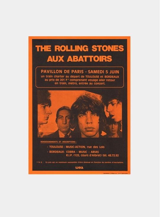 The Rolling Stones, 1976 Original Poster