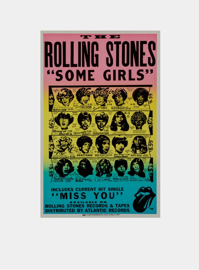 Rolling Stones, 1978 Original Poster