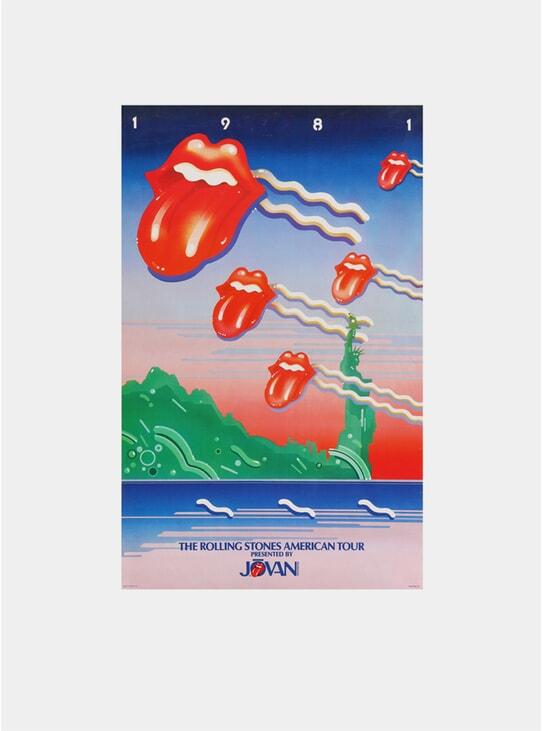 The Rolling Stones, 1981 Original Poster