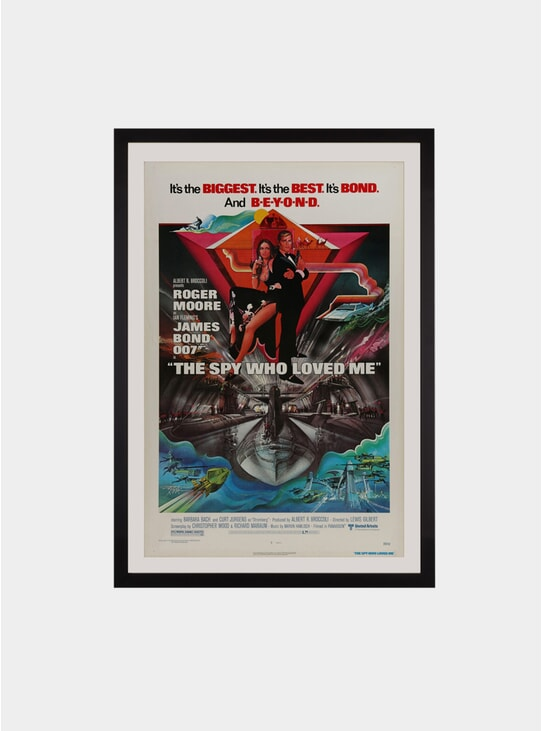 The Spy Who Loved Me, 1977 Original Poster