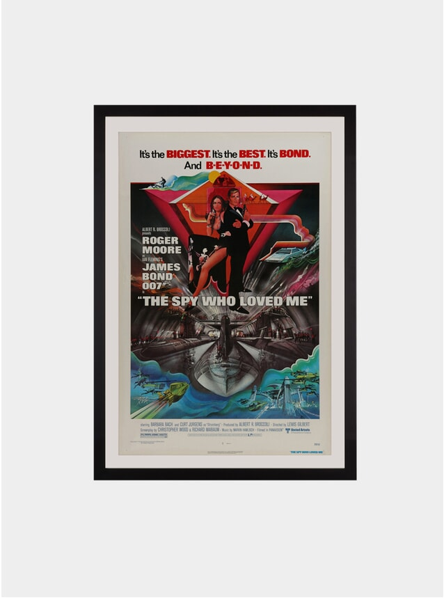 The Spy Who Love Me, 1977 Original Poster