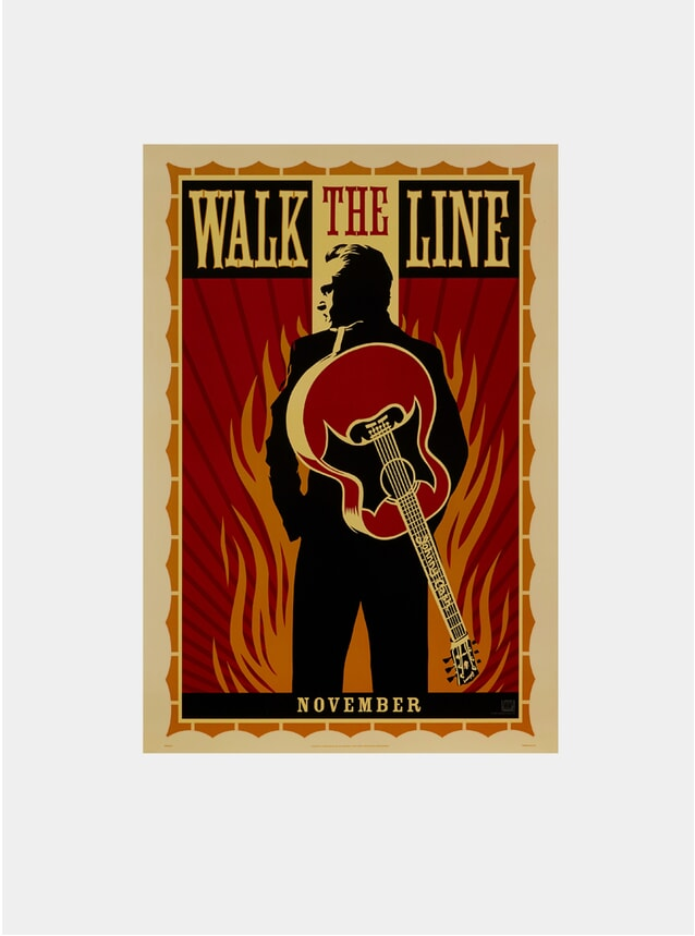 Walk The Line, 2005 Original Poster