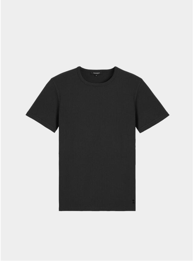 Black Eyelet T Shirt