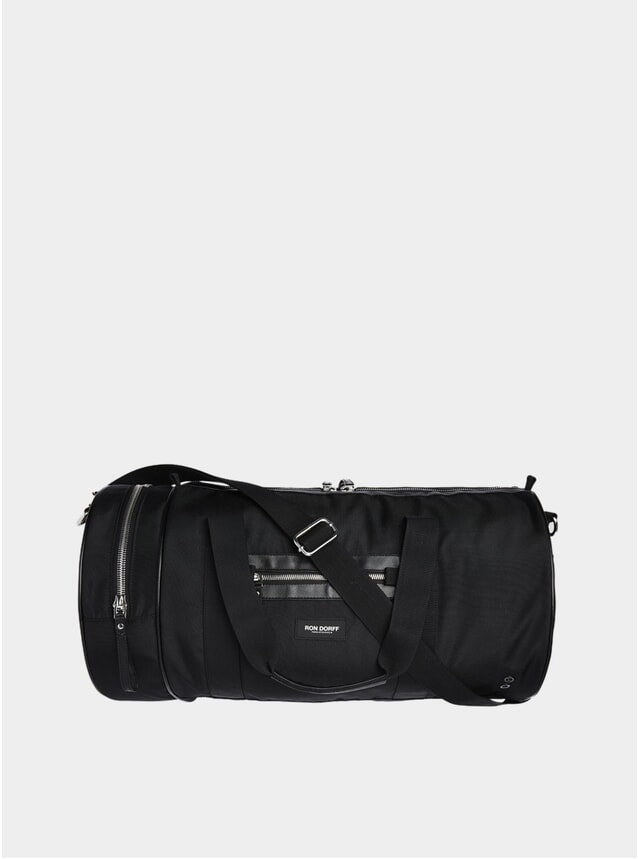 Black Tube Sports Bag