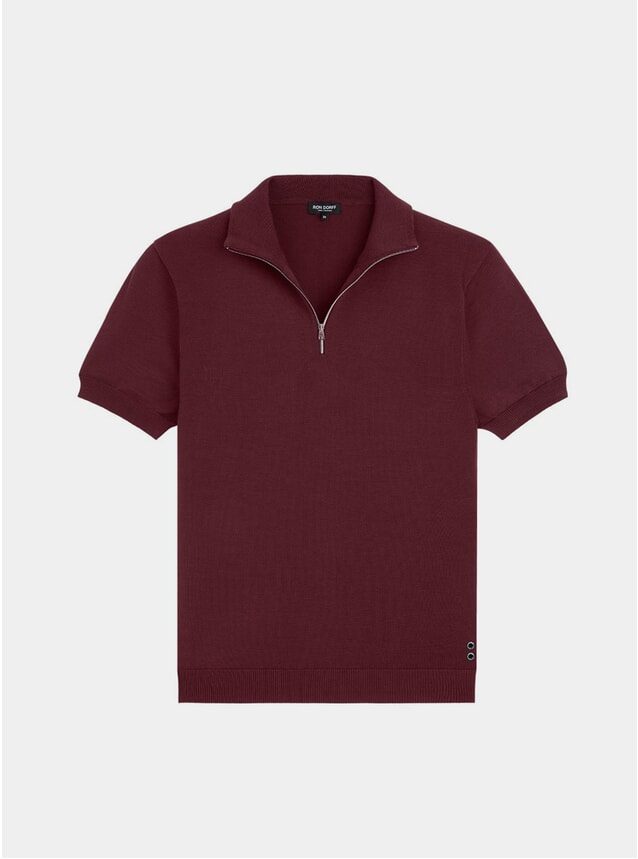 Burgundy Red RD Polo