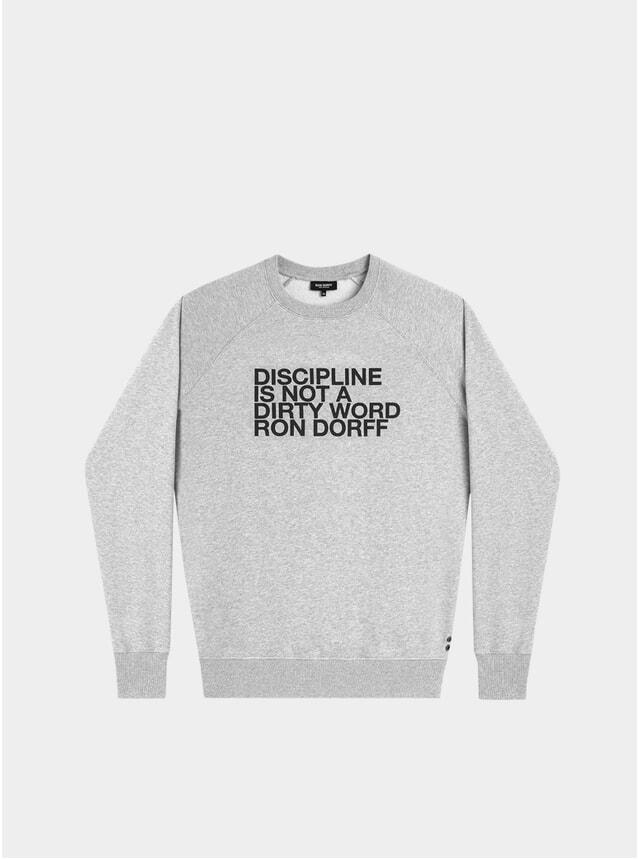 Grey Melange Discipline Sweatshirt