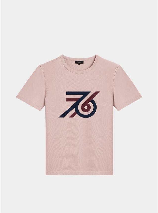 Pink 76 T Shirt