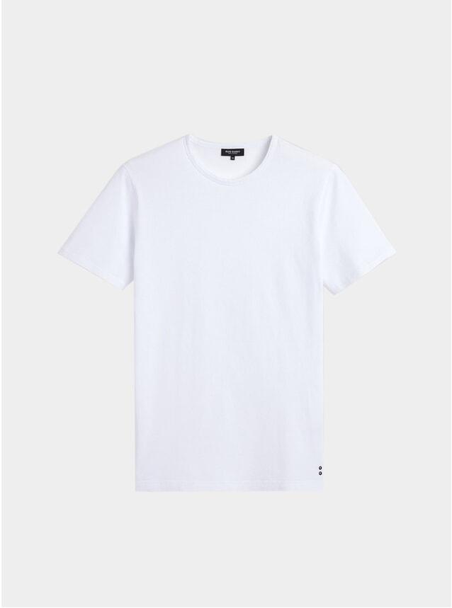 White Eyelet T Shirt