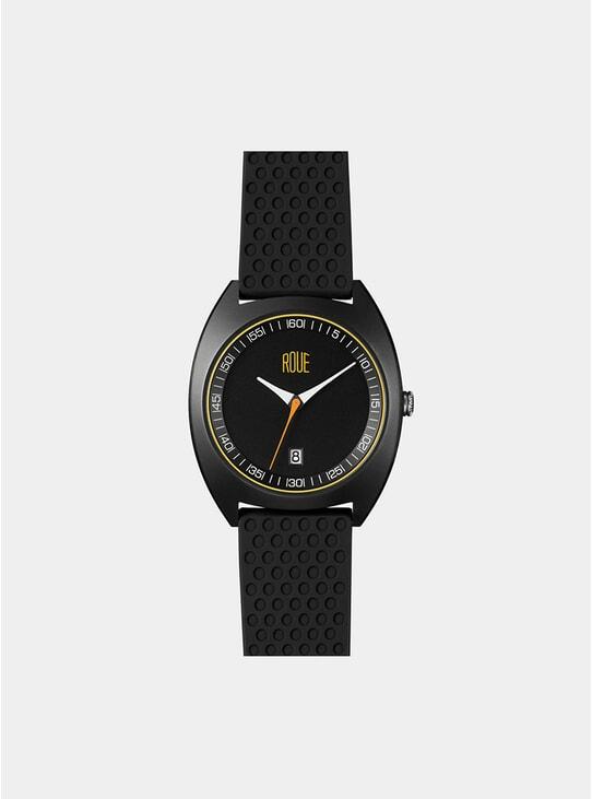 Black / Yellow CAL Three Watch