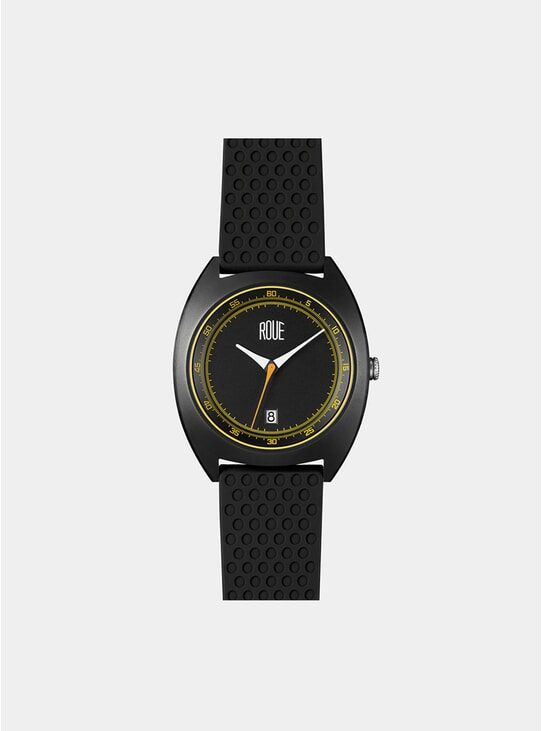 Black / Yellow CAL Two Watch