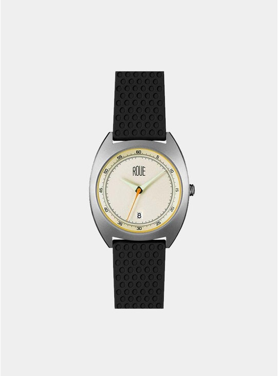 Silver / Anqitue Silver CAL One Watch