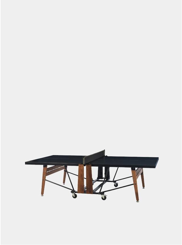 Black Folding Ping Pong Table