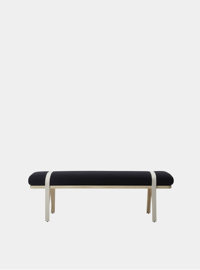 Black On The Road Bench