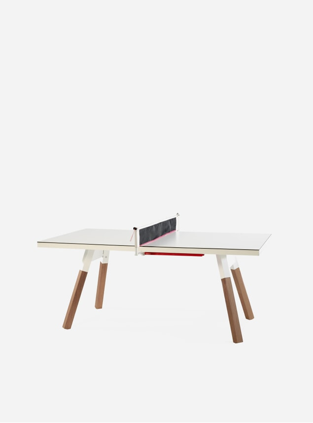 White You and Me Ping Pong Table