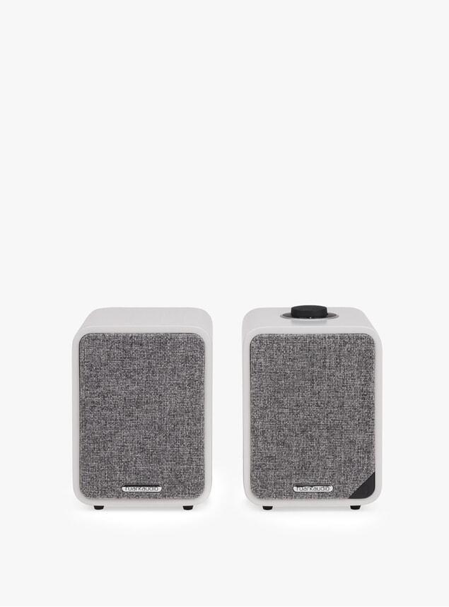 Soft Grey MR1 Bluetooth Speaker System