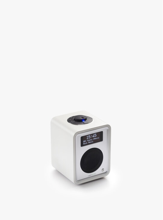 Soft White R1 Deluxe Bluetooth Radio