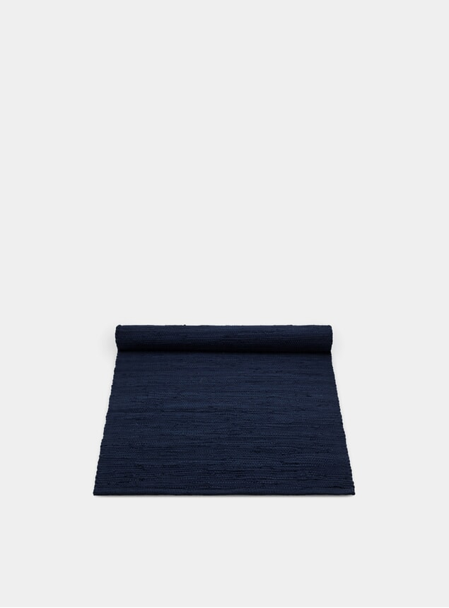 Deep Ocean Cotton Rug