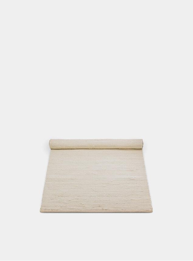 Desert White Cotton Rug
