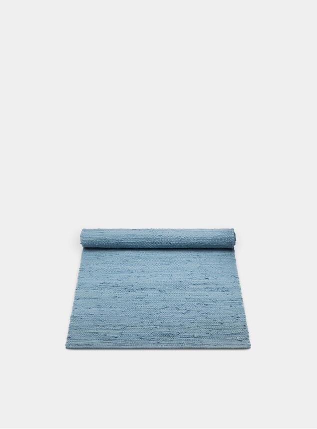 Eternity Blue Ocean Cotton Rug