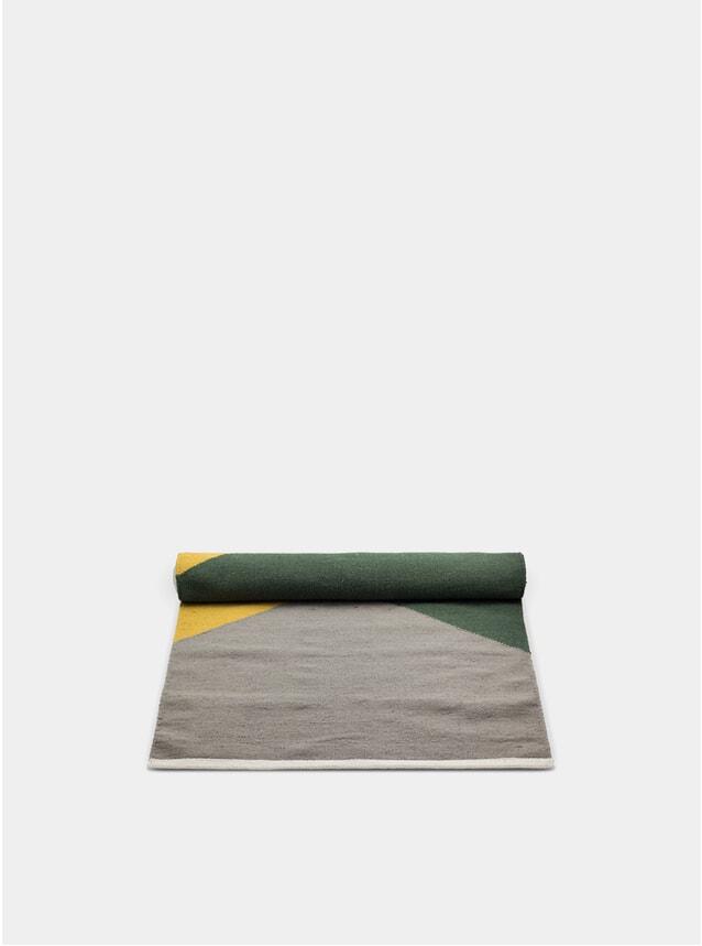 Green / Amber / Grey Horizon Wool Rug