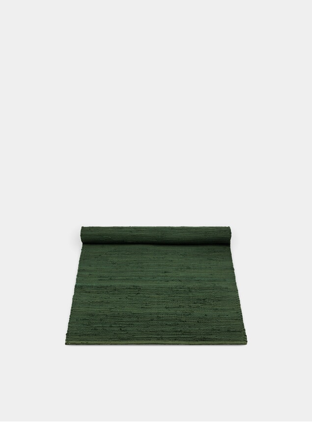 Guilty Green Cotton Rug