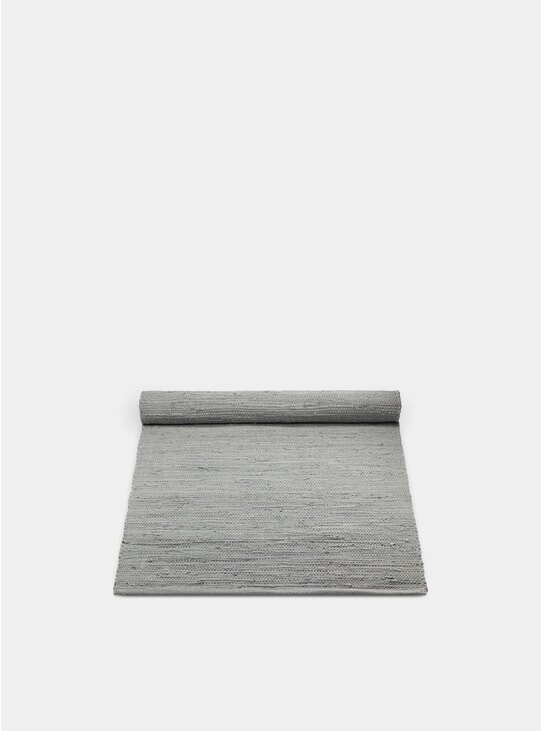 Light Grey Cotton Rug